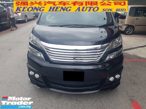 2009 TOYOTA VELLFIRE 3.5 VL MODEL (FREE 2 YEARS WARRANTY)