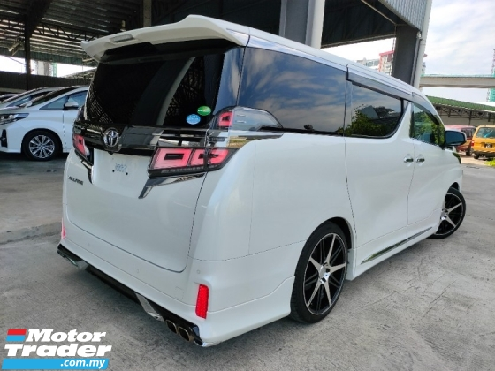 2019 TOYOTA VELLFIRE 2.5 ZG Sun Roof PreCrash BSM DIM LTA Leather PBoot Modelistakit Unregister