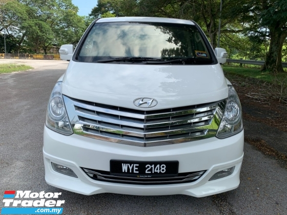 2014 HYUNDAI GRAND STAREX 2.5 (A) PREMIUM 1 Lady Owner Only TipTop Condition