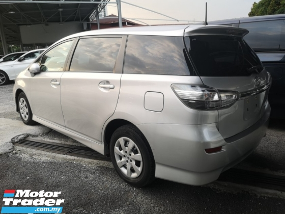 2017 TOYOTA WISH 1.8 X/FREE 5 YEARS WARRANTY