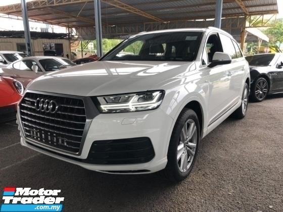 2015 AUDI Q7 TDI S-Line New Facelift 7 seathers  Unregistered