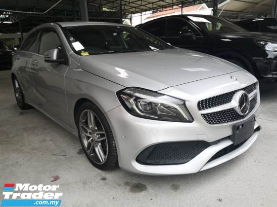 2016 MERCEDES-BENZ A-CLASS A180 AMG/FREE 5 YEARS WARRANTY/NFL