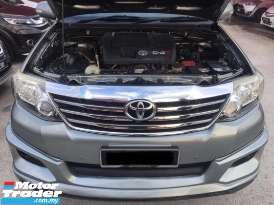 2014 TOYOTA FORTUNER 2.5 G (a) diesel turbo VNT FACELIFT 4x4