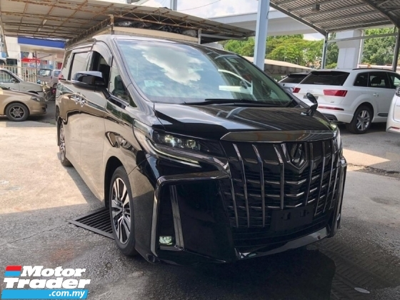 2019 TOYOTA ALPHARD 2.5 NFL PRE CRASH STOP SYSTEM 2 LED LANE ASSIST SENSOR POWER BOOT 360 SURROUND CAMERA FREE WARRANTY