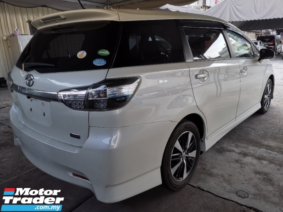 2016 TOYOTA WISH Toyota Wish 1.8 S MONOTONE with Sunroof