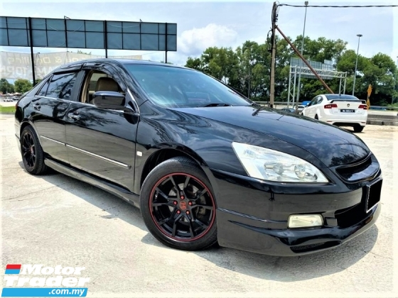2005 HONDA ACCORD 2.4 IVTEC (A) BLACKLIST CAN LOAN/LEATHER SEAT /MALAY CAREFULL OWNER
