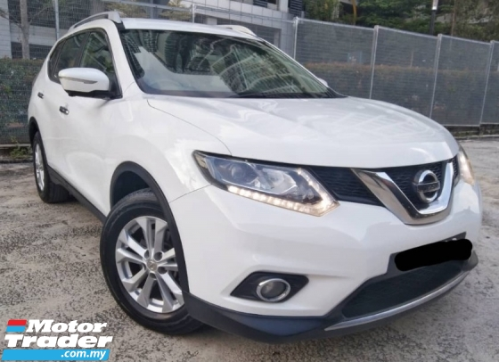 2016 NISSAN X-TRAIL 2.5 SUV (LOW MILEAGE)(ONE OWNER)(2 YEAR WARRANTY)