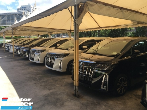 2018 TOYOTA ALPHARD 2.5 SC SUN ROOF PERFECT UPGRADE FACELIFT 360 CAM