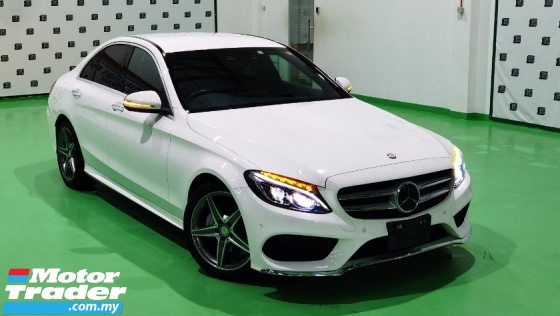 2015 MERCEDES-BENZ C-CLASS 2015 MERCEDES C200 2.0 AMG SPEC ORIGINAL FROM JAPAN UNREG CAR SELLING PRICE ( RM 179,000.00 NEGO )