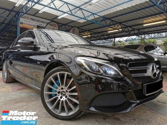 2016 MERCEDES-BENZ C-CLASS Mercedes Benz C350 E 2.0 AMG BURMESTER RED WARRNTY