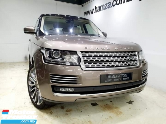 2016 LAND ROVER RANGE ROVER VOGUE AUTOBIOGRAPHY