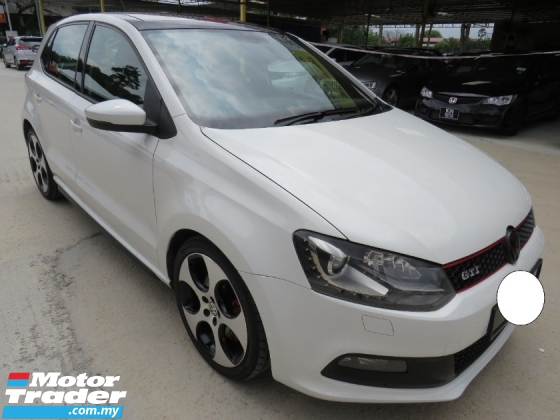 2014 VOLKSWAGEN POLO 1.4 (A) GTI SUNROOF PADDLE SHIFT HIGH LOAN TIP TOP