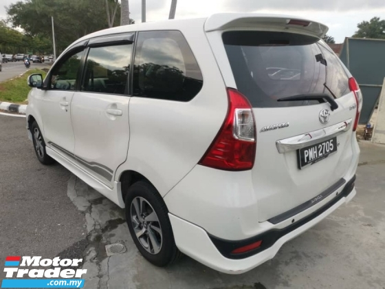 2015 TOYOTA AVANZA 1.5 G Facelift (A) - Low Mileage