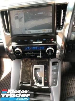 2018 TOYOTA ALPHARD Unreg Toyota Alphard SC 2.5 Facelift Pilot 7seather 360view Sun Roof Pre Crash 3LED Light Push Start