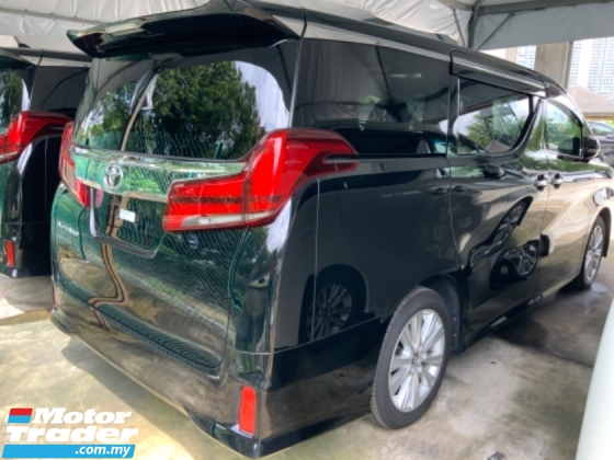 2018 TOYOTA ALPHARD 2.5 S surround camera power boot 7 seaters unregistered