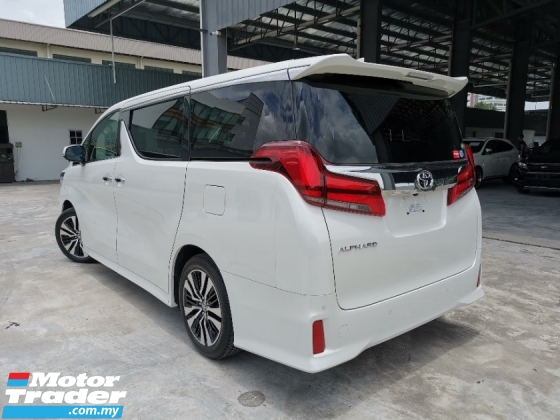 2019 TOYOTA ALPHARD 2.5 SC SUNROOF DIM BSM WHITE BEST OFFER UNREG