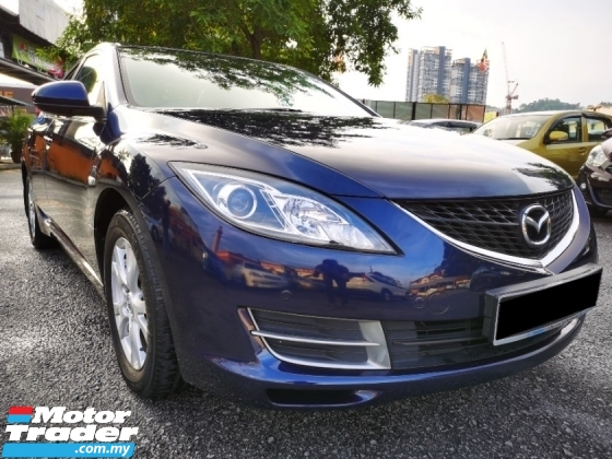 2009 MAZDA 6 2.0 (A) 1 OWNER - LOW MILEAGE - TIP TOP CONDITION