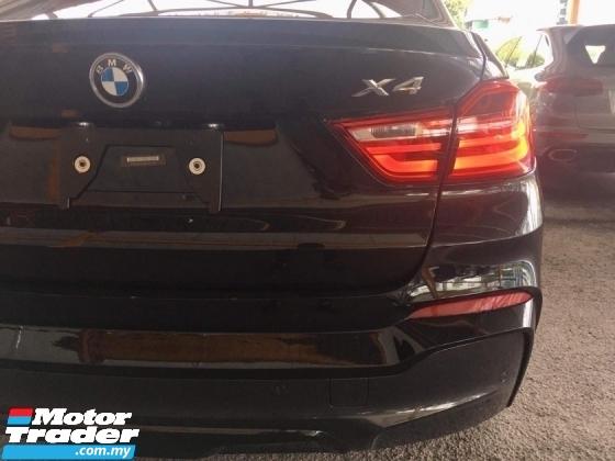 2016 BMW X4 M SPORT 2.0T (UNREG) 4 CAMERA IDRIVE