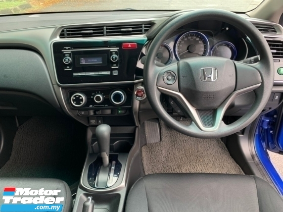 2016 HONDA CITY 1.5 (A) 1 Lady Owner Only Original Paint