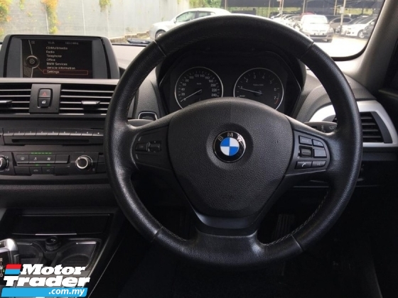 2013 BMW 1 SERIES 116i 1.6 (A) FULL SERVICES RECORD