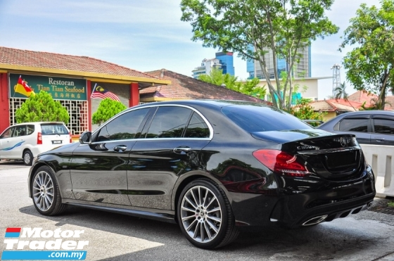 2018 MERCEDES-BENZ C-CLASS C350e AMG MILEAGE ONLY 1K PRE-OWN