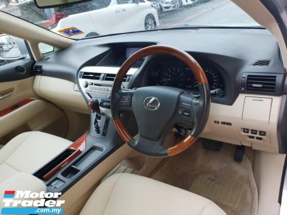 2010 LEXUS RX350 3.5 (CBU)