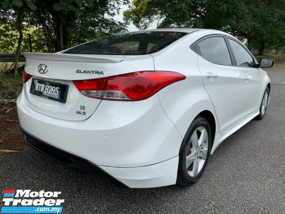 2014 HYUNDAI ELANTRA 1.6 (A) HIGH SPEC 1 Owner Only TipTop Condition