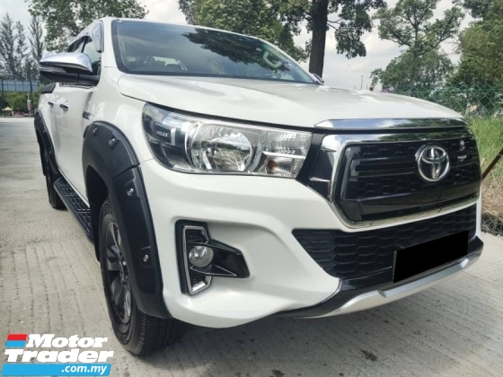 2016 TOYOTA HILUX 2.5 G DOUBLE CAB FULL BODYKITS EXCELLENT CONDITION