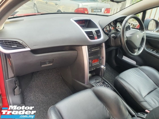 2008 PEUGEOT 207 Cabriolet 1.6