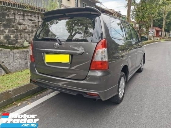 2013 TOYOTA INNOVA FULL BODYKIT 1 TEACHER OWNER