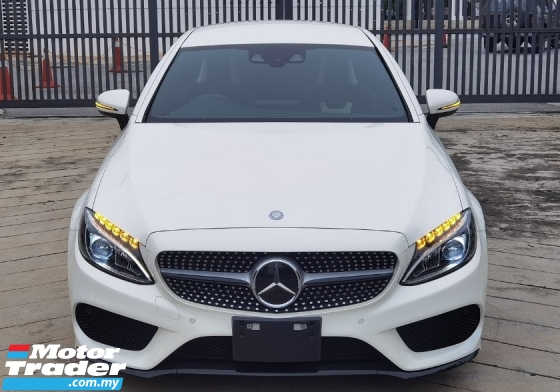 2017 MERCEDES-BENZ C-CLASS 2017 MERCEDES C180 1.6 AMG COUPE SPEC ORIGINAL FROM JAPAN UNREG 3 DOOR