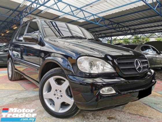 2001 MERCEDES-BENZ ML-CLASS Mercedes Benz ML320 3.2 (A) SUNROOF LEATHER WRRNTY