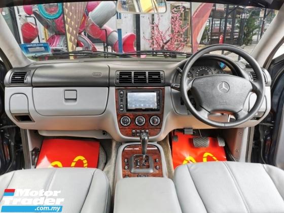 2001 MERCEDES-BENZ ML-CLASS Mercedes Benz ML320 3.2 (A) SUNROOF LEATHER WRRNTY