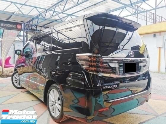 2012 TOYOTA VELLFIRE Toyota VELLFIRE 2.4 Golden EYE 2PDOOR PwBOOT SROOF