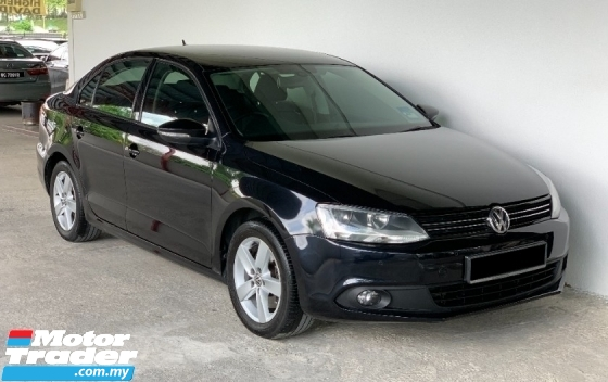 2012 VOLKSWAGEN JETTA 1.4 (A) TSI 7 Speed Sporty Model