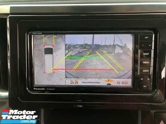 2017 TOYOTA ALPHARD 2.5 SC ALPINE MONITOR PRE CRASH STOP SYSTEM AUTO CRUISE 360 SURROUND CAMERA FREE WARRANTY