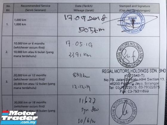 2018 PROTON PERSONA 1.6 PREMIUM 14k km full service record