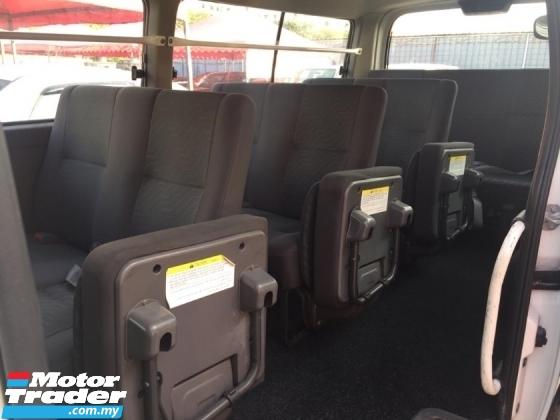 2014 NISSAN URVAN 3.0 diesel window van 14 seater