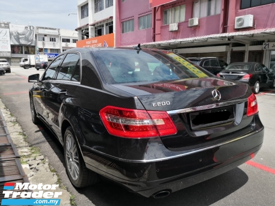 2013 MERCEDES-BENZ E-CLASS E200 cgi CKD TRUE YEAR MADE 2013 ((( Free 2 Yrs Warranty ))) Full Service History Cycle Carriage
