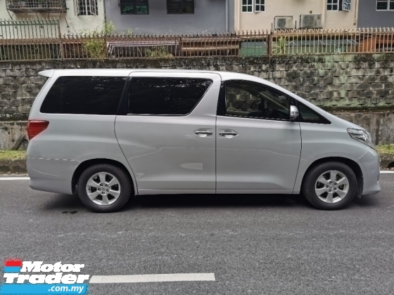 2013 TOYOTA ALPHARD 2.4 (A) 2 POWER DOOR NO PROCESSING CHARGE
