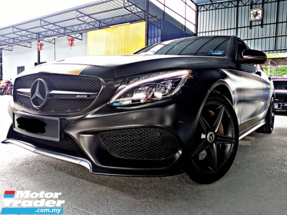 2018 MERCEDES-BENZ C-CLASS  C250 AMG SunRoof FULL SERVICE RECORD
