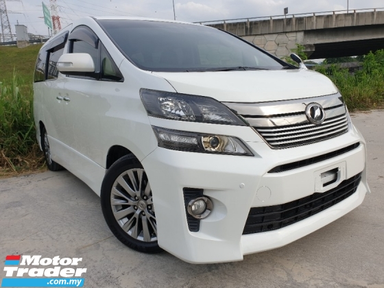 2013 TOYOTA VELLFIRE 2.4 Z GOLDEN EYES MUST VIEW CONDITION MPV KING