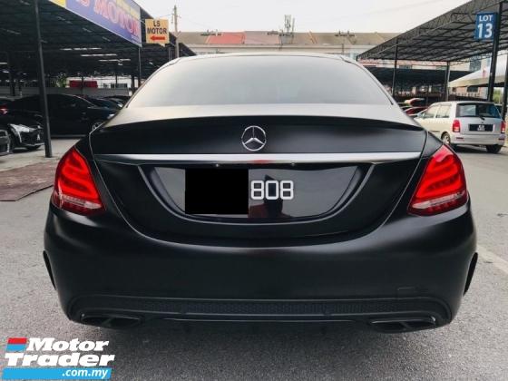 2018 MERCEDES-BENZ C-CLASS 2018 Mercedes Benz W205 C250 2.0 AMG LINE (A)