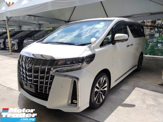 2018 TOYOTA ALPHARD 2.5 SC 3 LED HEADLAMPS 360 SURROUND CAMERA SUNROOF MOONROOF FREE WARRANTY