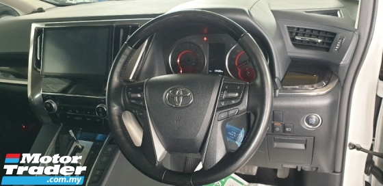 2018 TOYOTA VELLFIRE 2.5 ZG NEW FACELIFT NO HIDDEN CHARGES