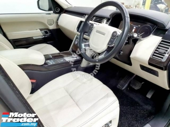 2016 LAND ROVER RANGE ROVER VOGUE AUTOBIOGRAPHY 3.0L V6 DIESEL TURBO CHARGED