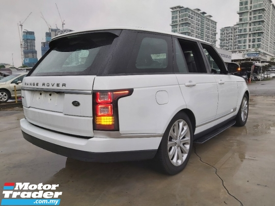 2016 LAND ROVER RANGE ROVER VOGUE SDV6 HSE DIGITAL 3.0 DIESEL TURBO MERIDIAN PROOF