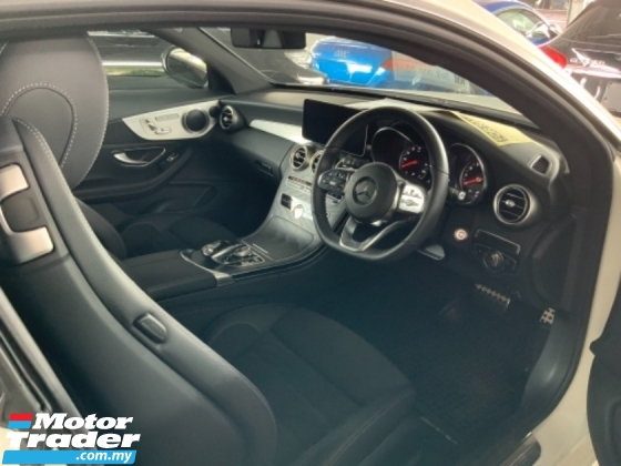 2019 MERCEDES-BENZ C-CLASS C300 AMG premium Coupe high spec facelift unregistered