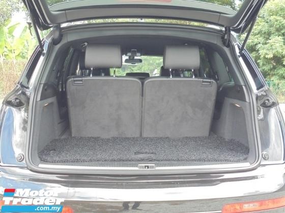 2013 AUDI Q7 3.0 TFSI S-Line Facelift PBT BOSE Reg.17