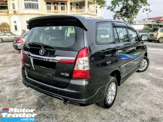 2015 TOYOTA INNOVA Toyota INNOVA 2.0 G (A) R/CAMERA